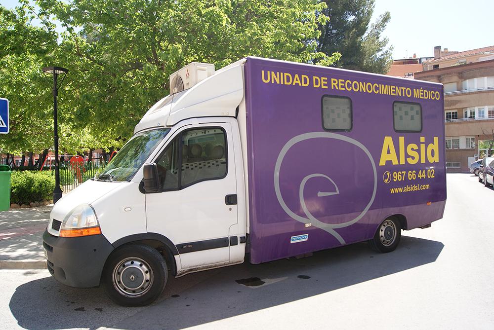 Unidad móvil Alsid